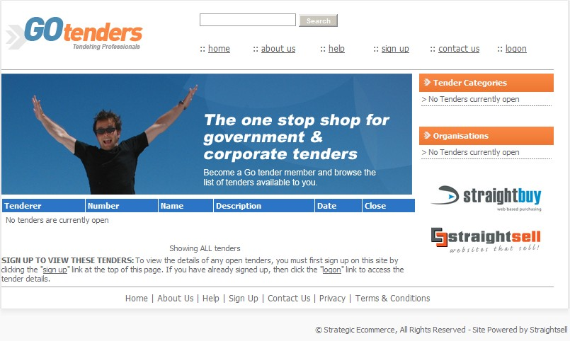 New dating website tender